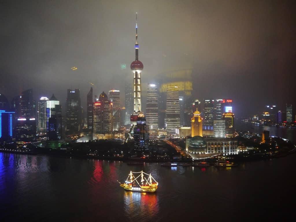 Eines der vielen Meilenschnäppchen März 2018: Shanghai