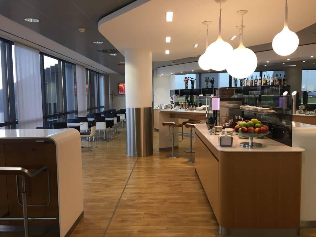 Einer der wichtigsten Miles & More Frequent Traveller Status Vorteile - Zugang zu den Lufthansa Business Lounges