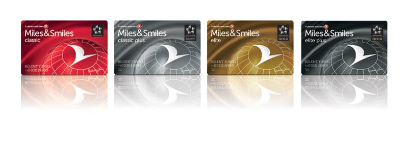 Statuslevel bei Turkish Airlines Miles & Smiles