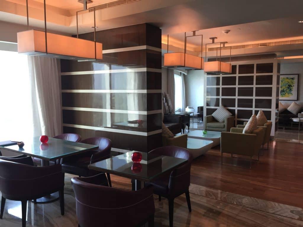 Hilton Hotel Executive Floor Lounge Foto