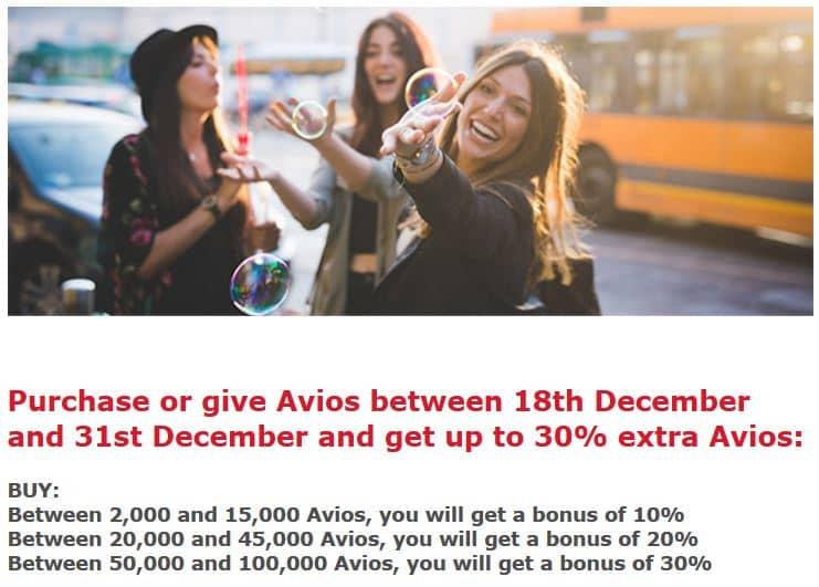 Iberia Plus Avios kaufen Aktion Screenshot