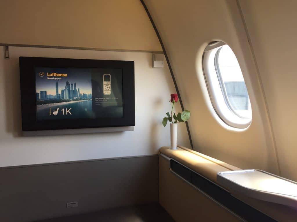 Unser Ziel: Mit Payback in die Lufthansa First Class