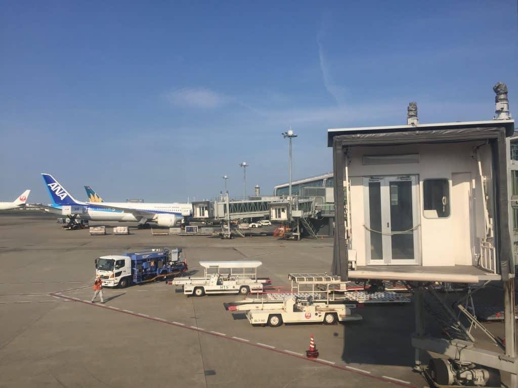 Flughafen Tokio Haneda Gate