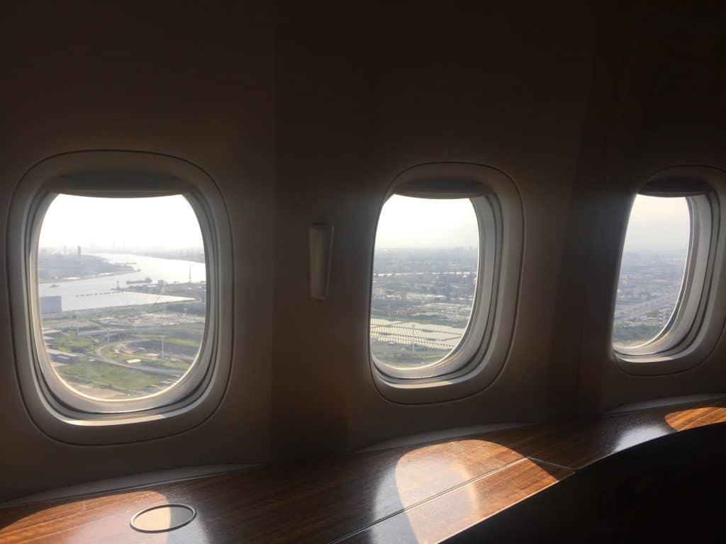 Landeanflug auf Tokio
