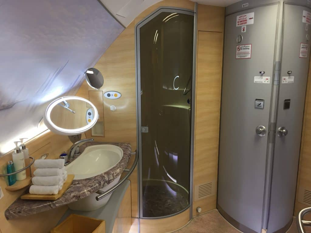 Emirates First Class Bad