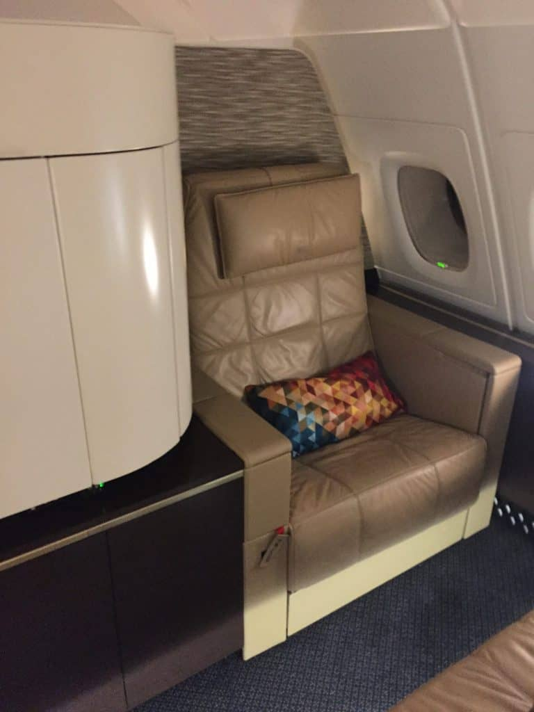 Etihad First Class Apartment Sitz
