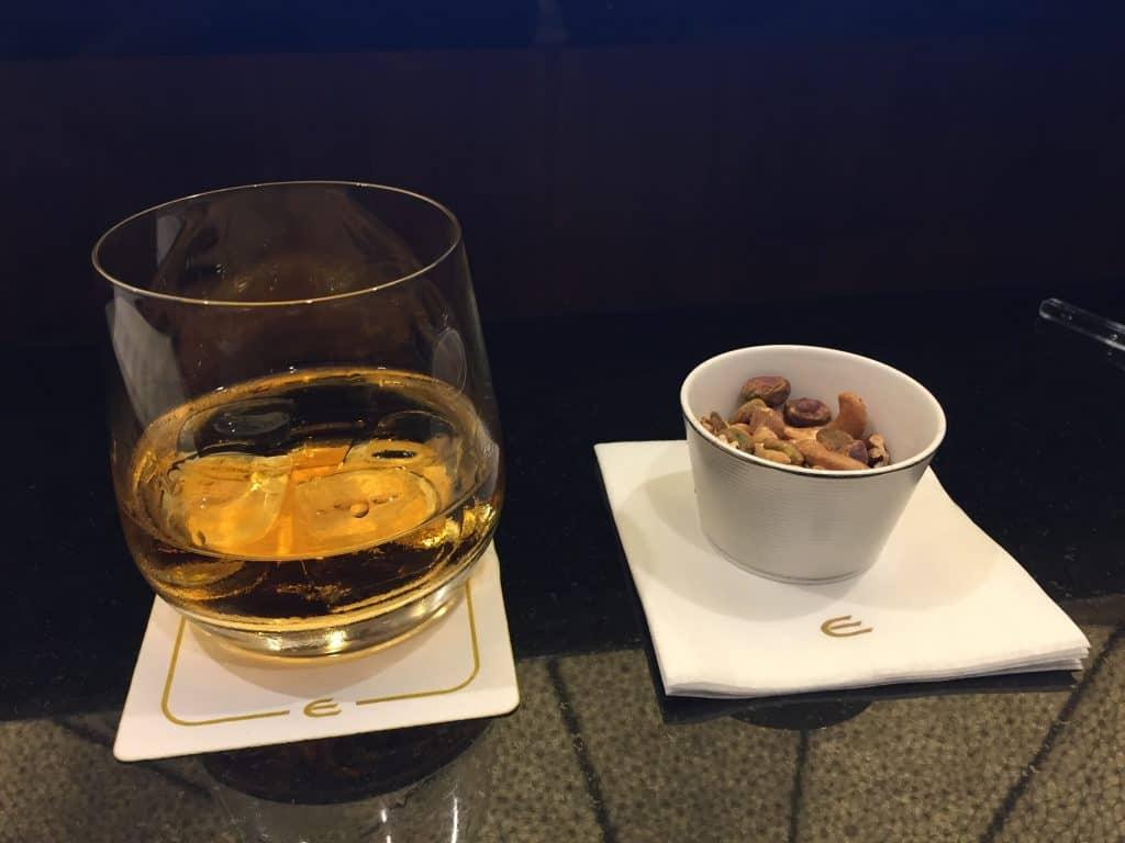 Appleton Rum und warme Nüsse