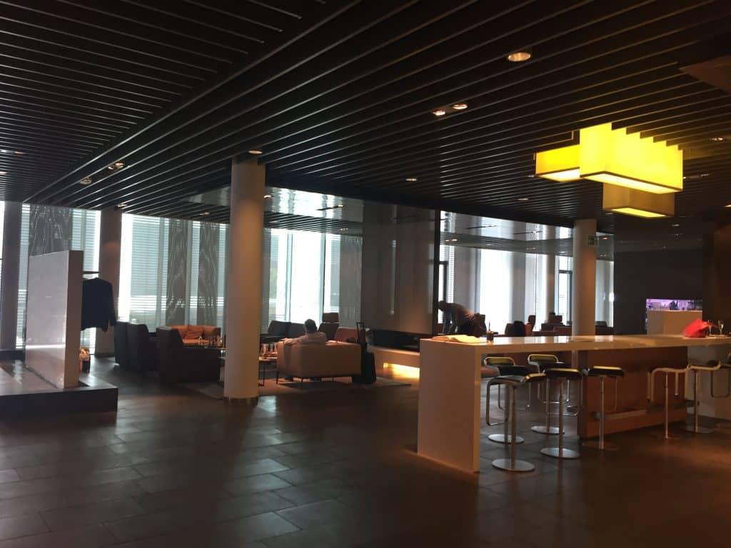 Lufthansa First Class Terminal Eingangsbereich