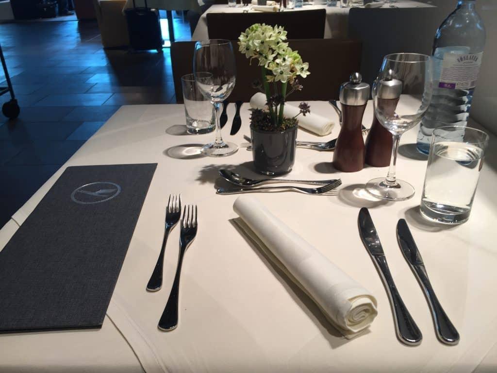 Lufthansa First Class Terminal Restaurant