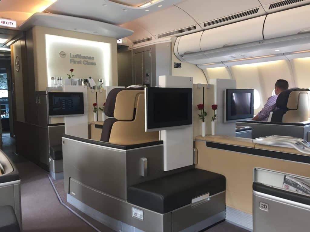 Dank kostenloser Miles & More Meilen in die Lufthansa First Class?