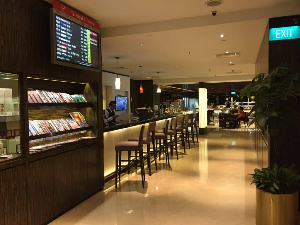Singapore Airlines First Class Lounge Singapore Airport