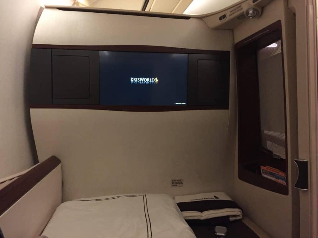 Singapore Airlines Suite Bett