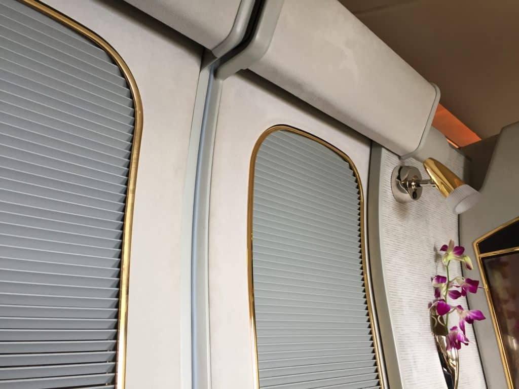 Emirates First Class Suite Türen