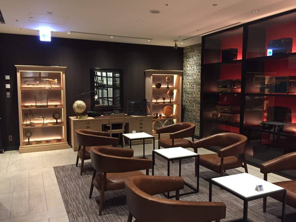 Japan Airlines First Class Lounge Tokio Haneda Red Suite