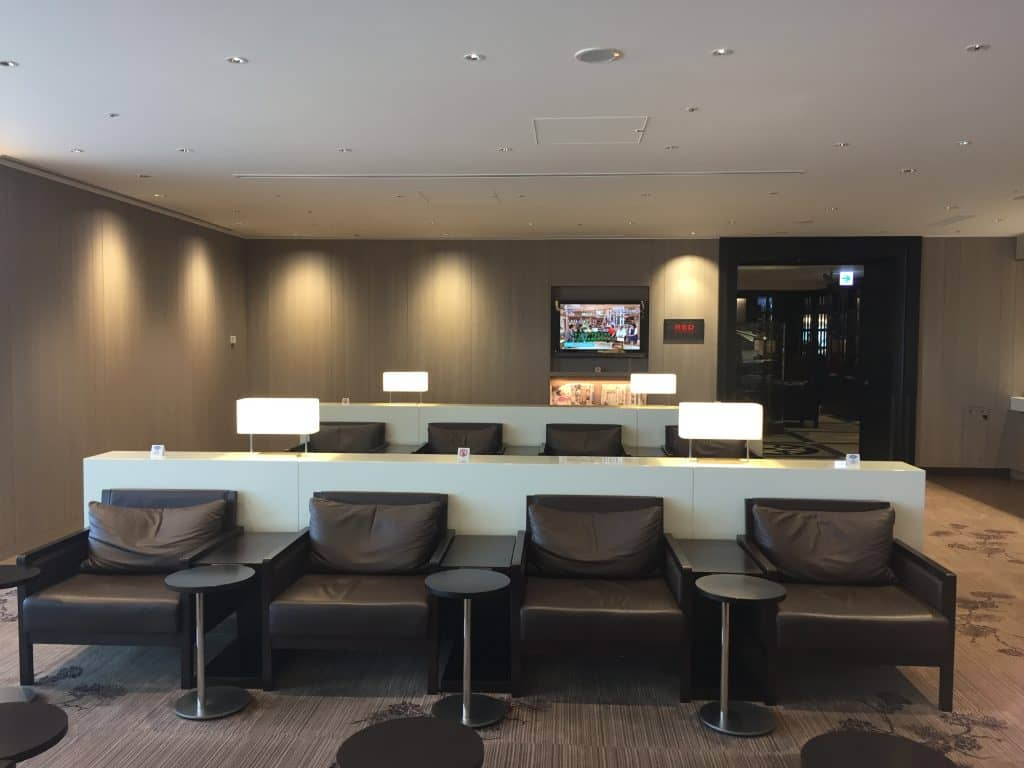 Japan Airlines First Class Lounge Tokio Haneda