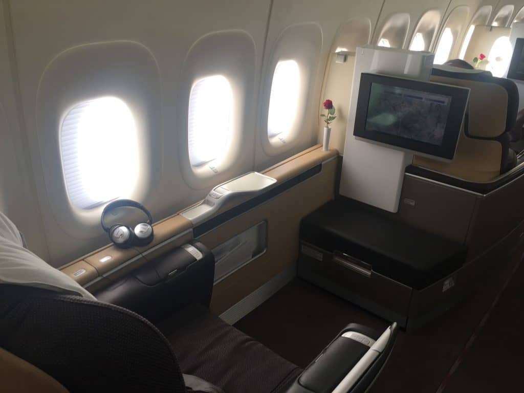 Mit Payback in die Lufthansa First Class