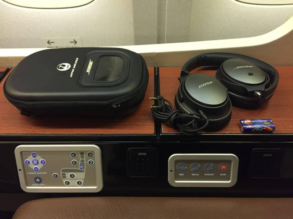 Japan Airlines Bose Kopfhörer