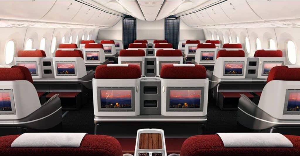 Vielleicht bald mit LATAM von München nach Sao Paulo? Die Business Class an Bord der LATAM Boeing 787 © latam.com