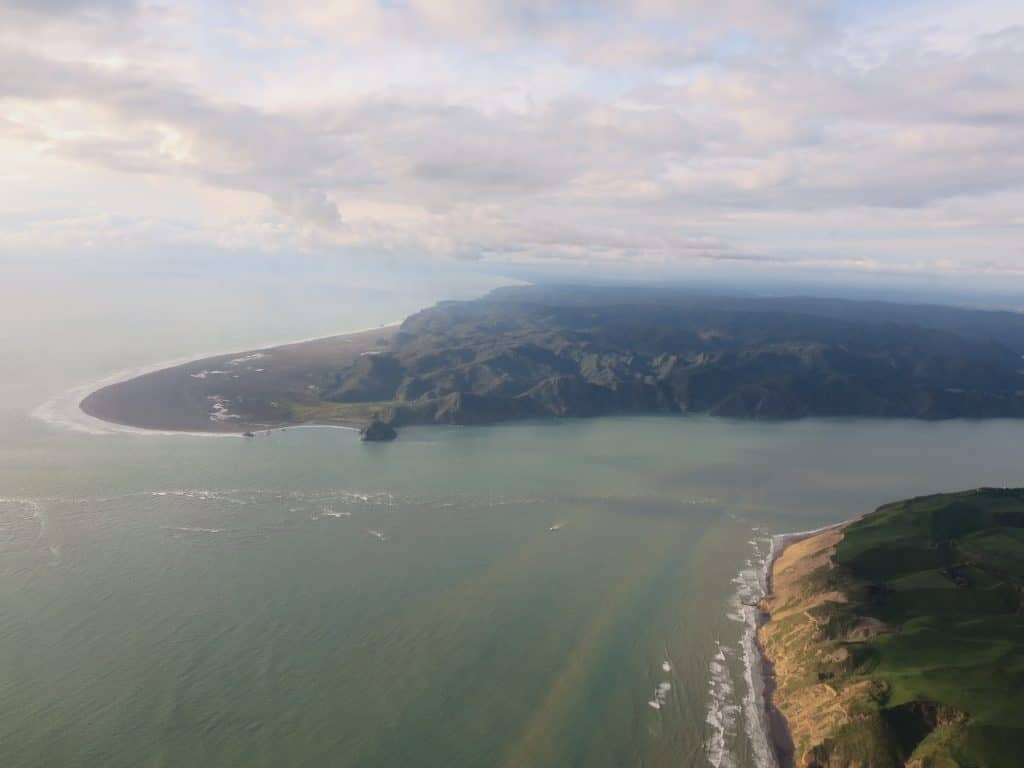 Landeanflug auf Auckland