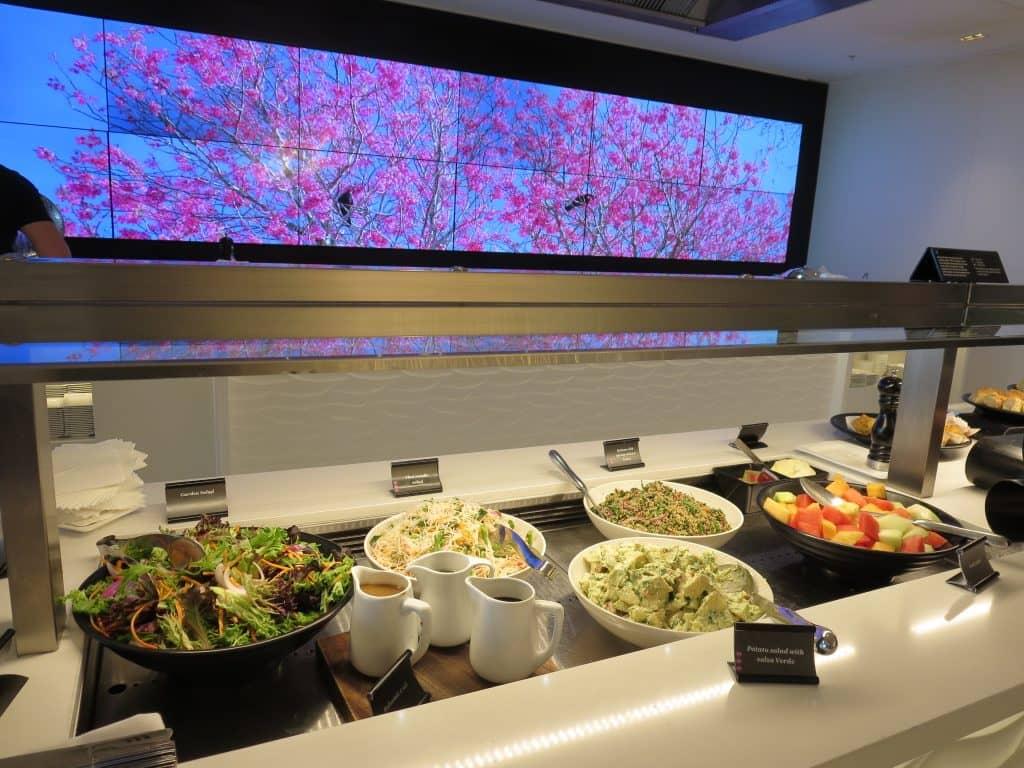 Air New Zealand Sydney International Lounge Buffet