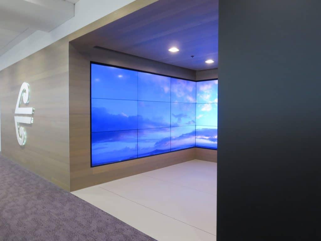 Die Air New Zealand Sydney International Lounge