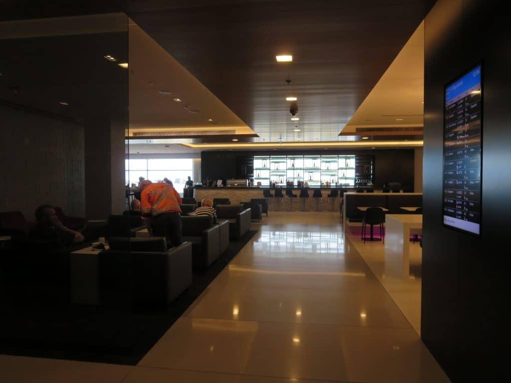 Air New Zealand Sydney International Lounge Eingangsbereich