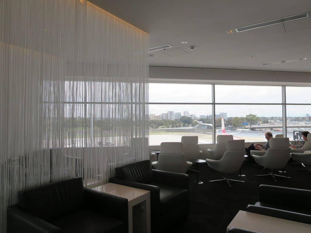 Air New Zealand Sydney International Lounge Ruhebereich