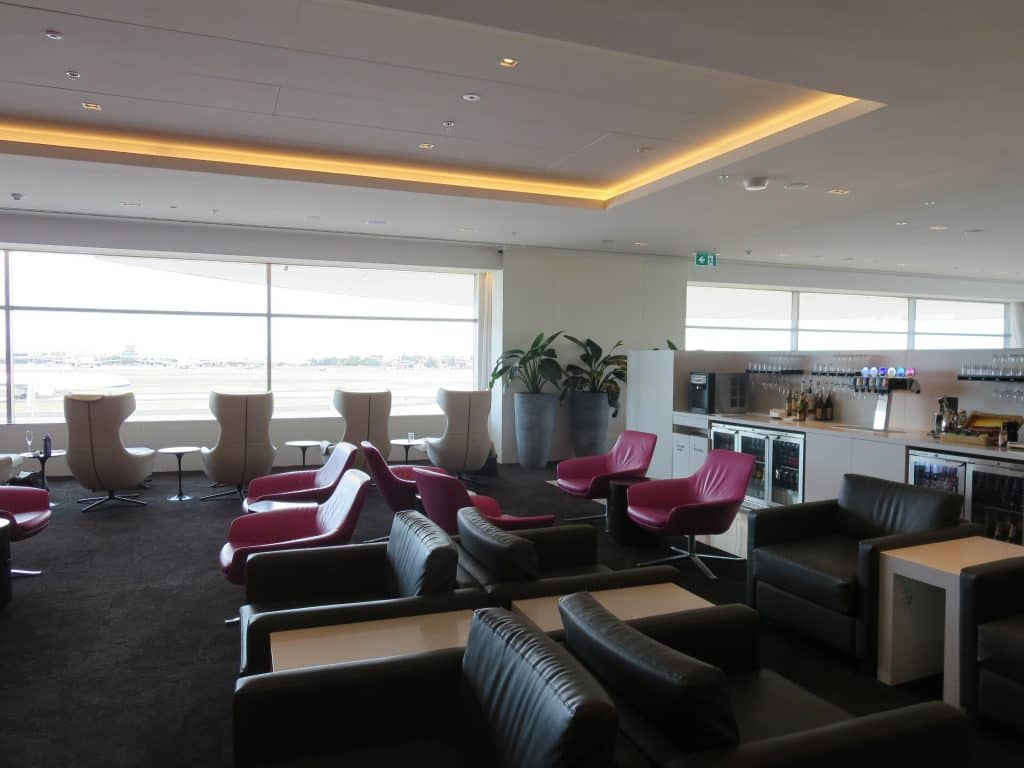 Air New Zealand Sydney International Lounge Sitzgelegenheiten