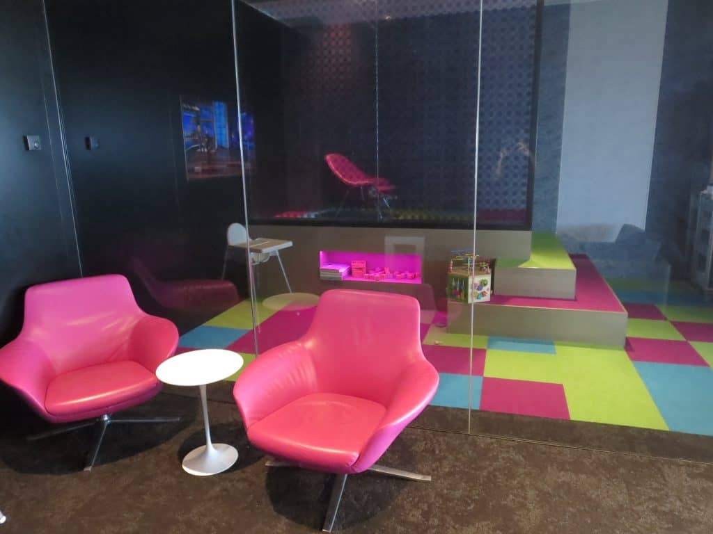 Air New Zealand Sydney International Lounge Spielecke