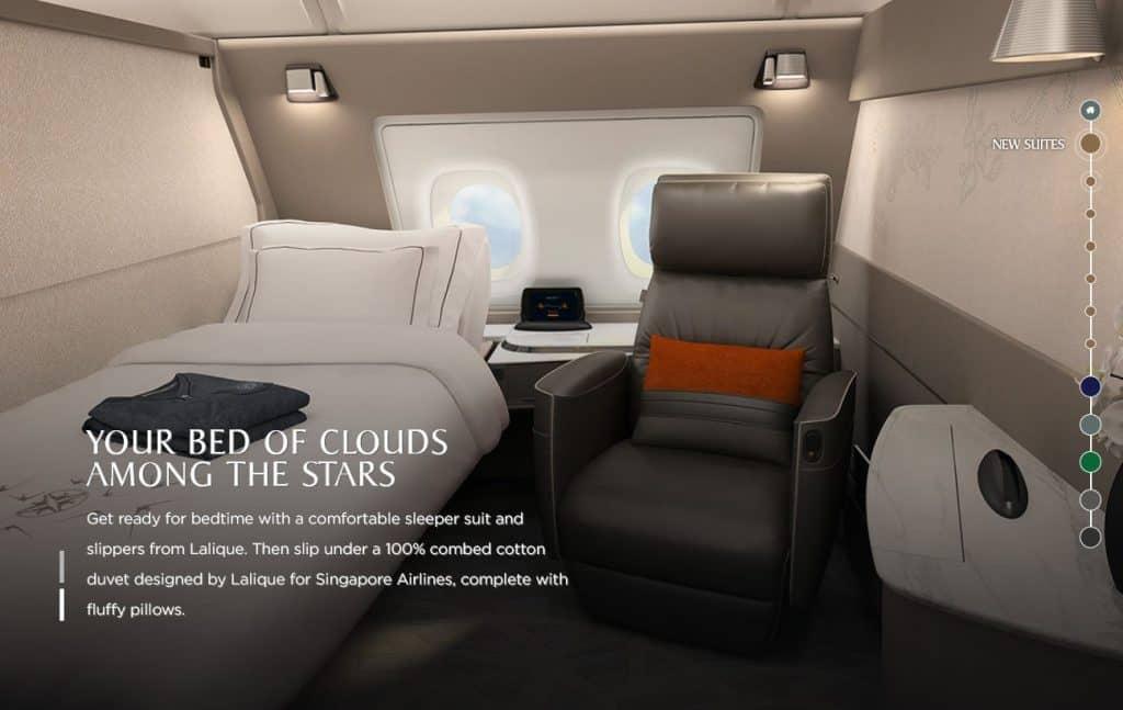 Die neue Singapore Airlines Suite &copy Singapore Airlines