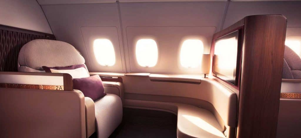 Qatar Airways First Class © Qatar