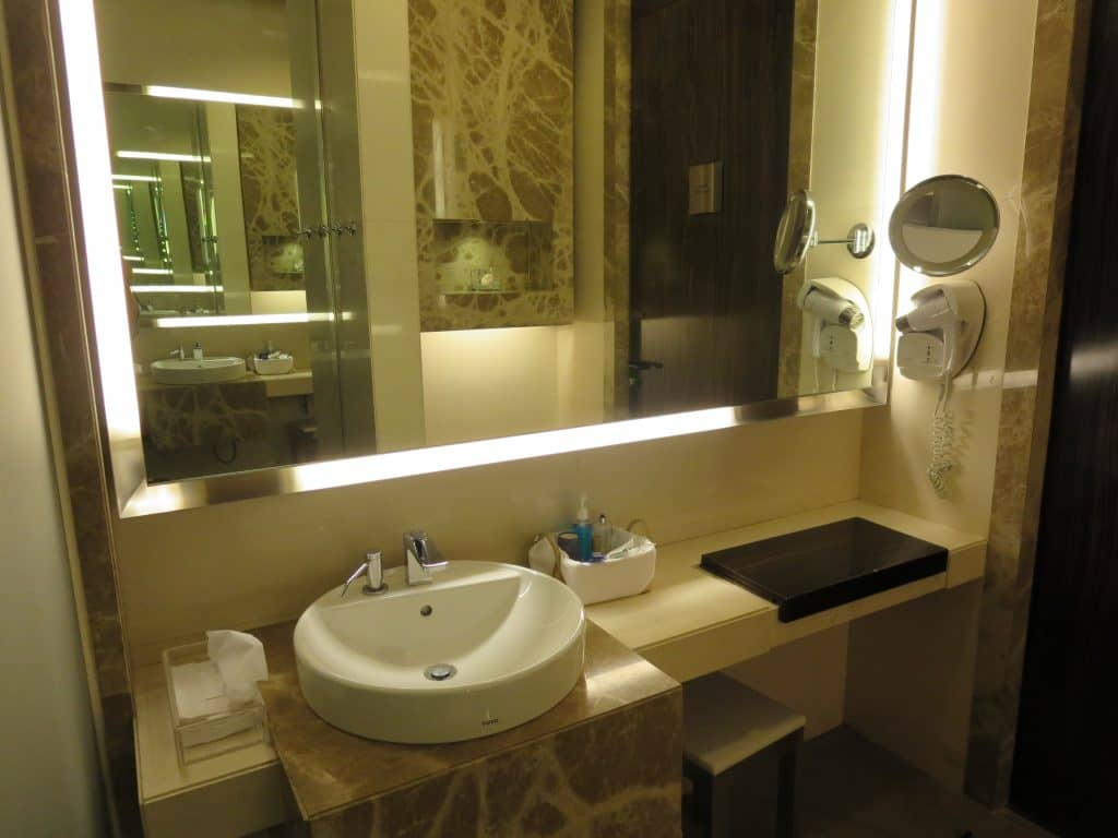 Singapore Airlines Private Room Duschen