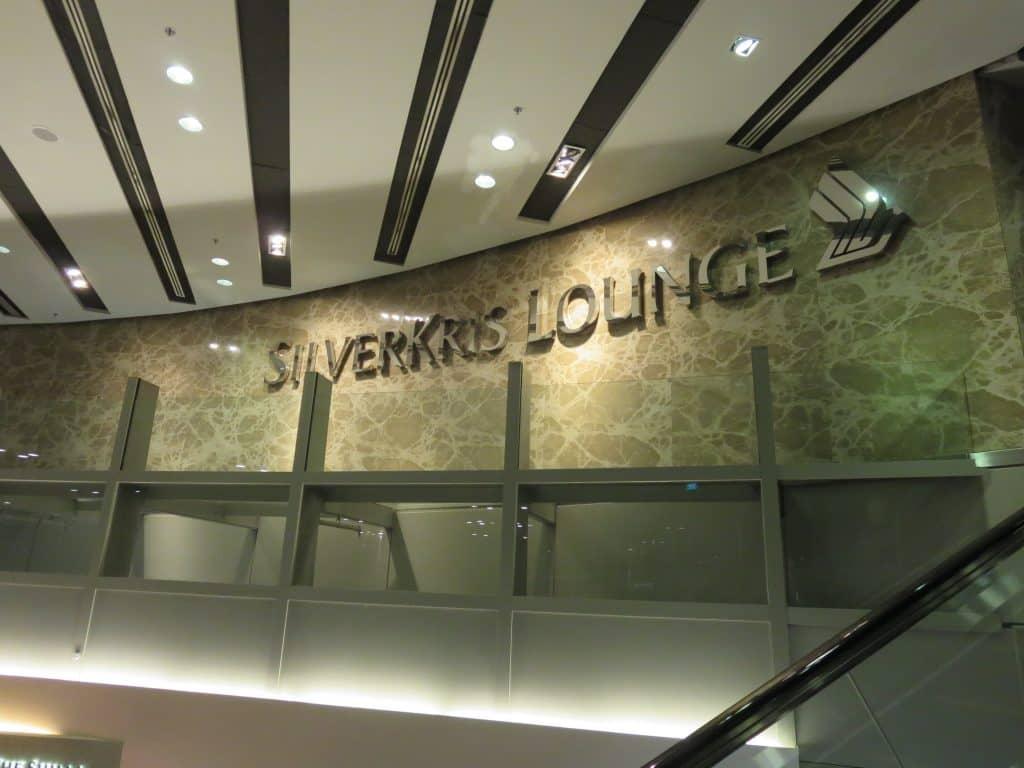 Singapore Airlines SilverKris Lounge Eingangsbereich