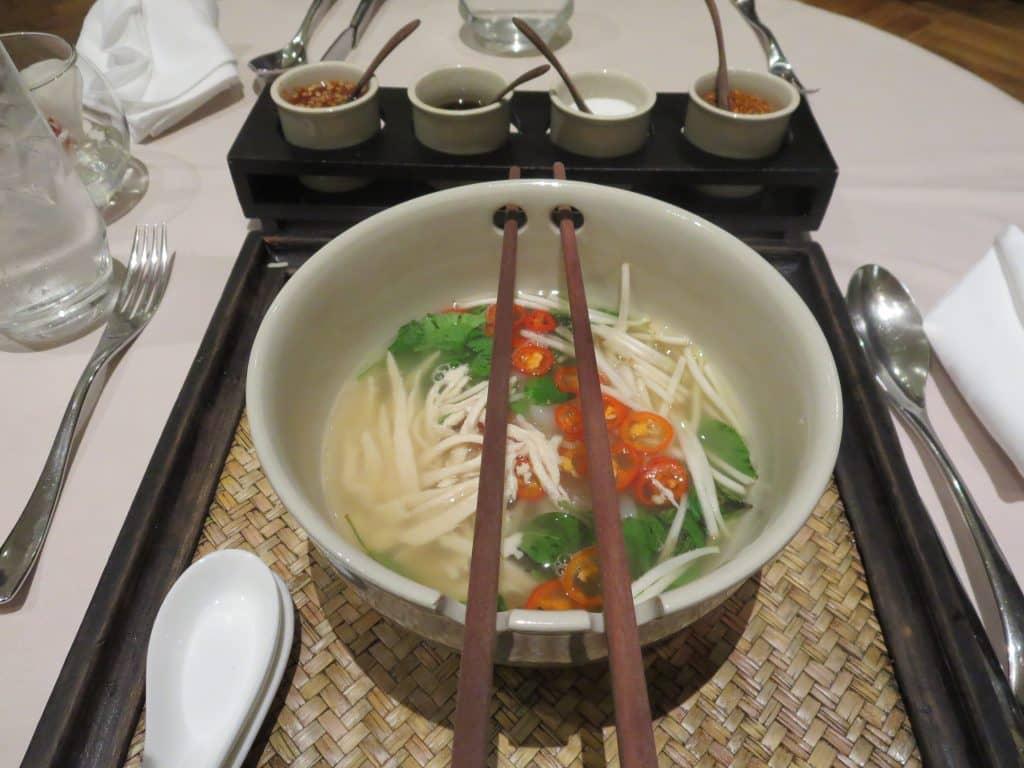 Singapore Airlines Private Room Restaurant