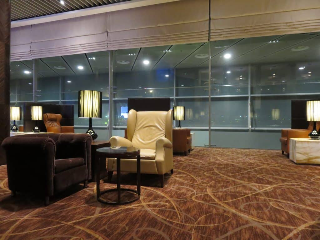 Singapore Airlines Private Room Sessel