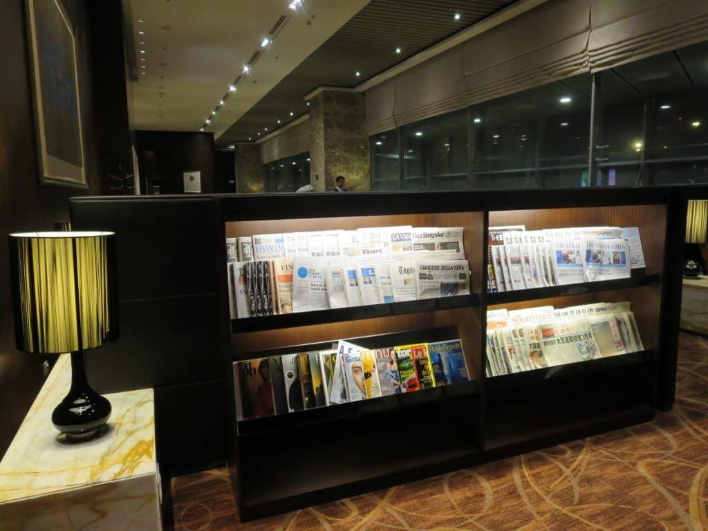 Singapore Airlines Private Room Zeitschriften