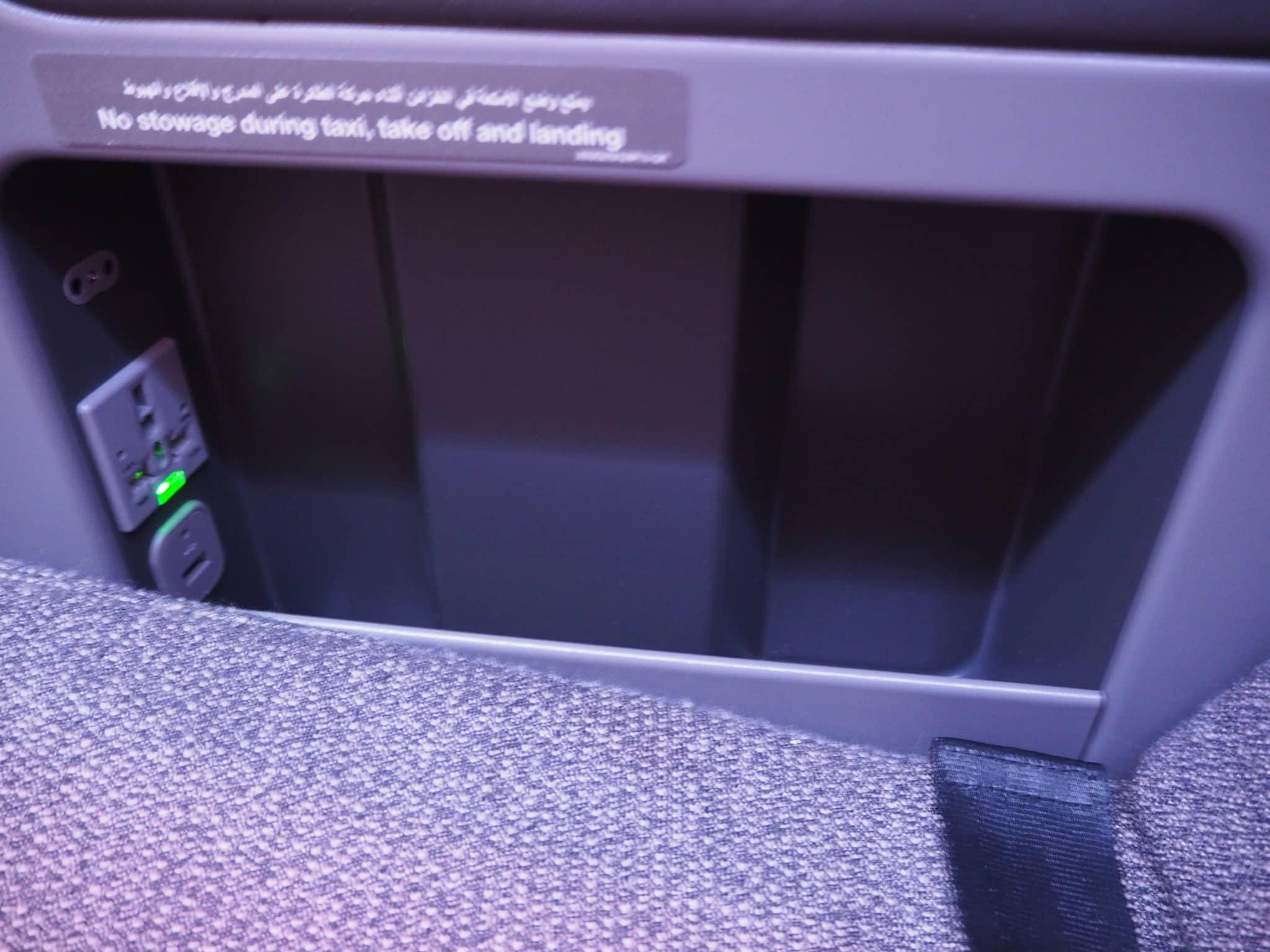 Anschlüsse an Bord des LATAM Business Class A350-900 XWB