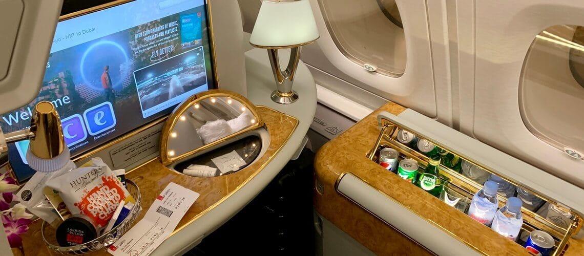 Slider Emirates First Class