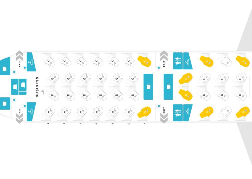 Mehr Air Canada Business Class ab Frankfurt mit der B777-200LR