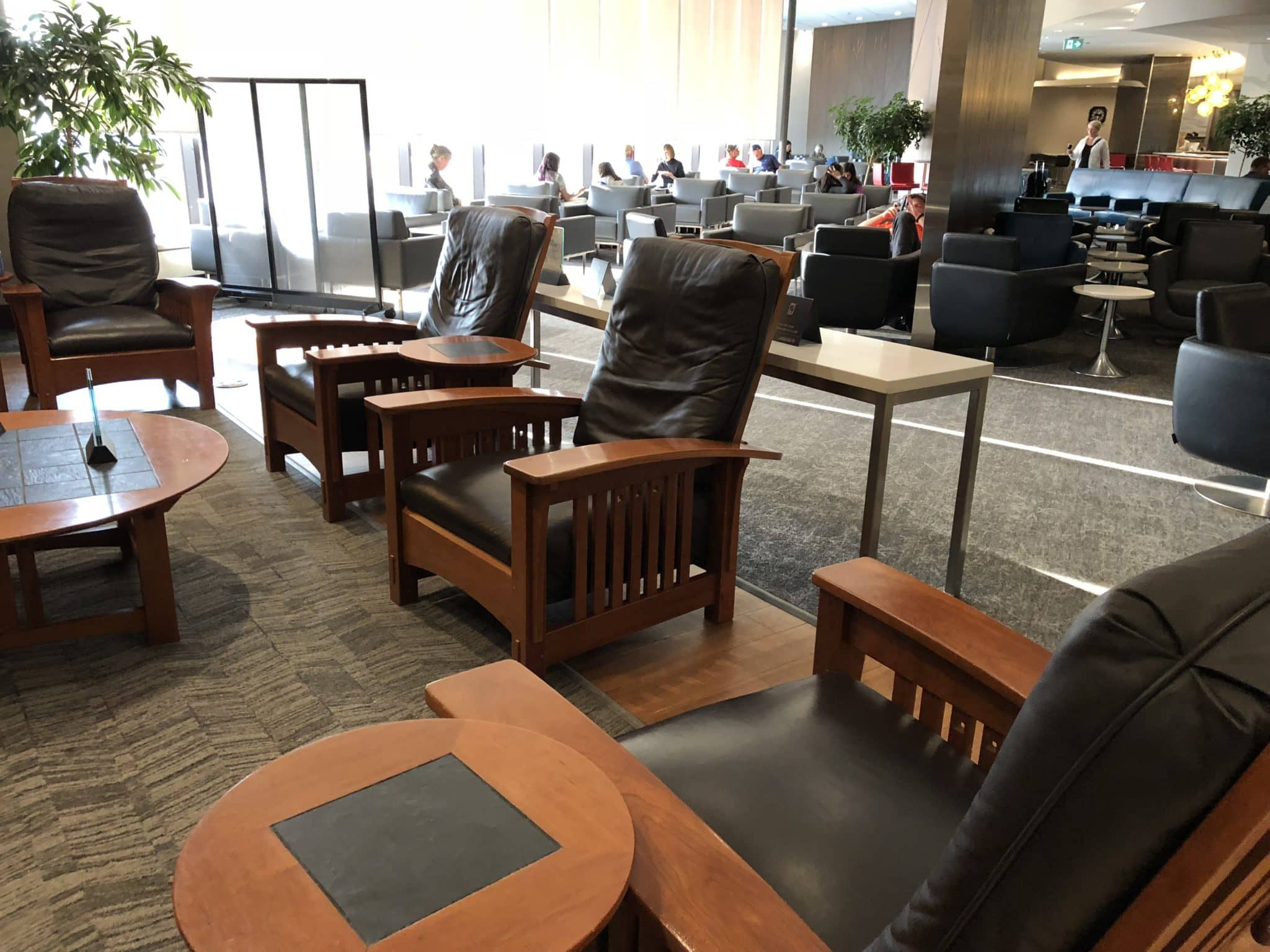 Air Canada Maple Leaf Lounge Calgary Sessel