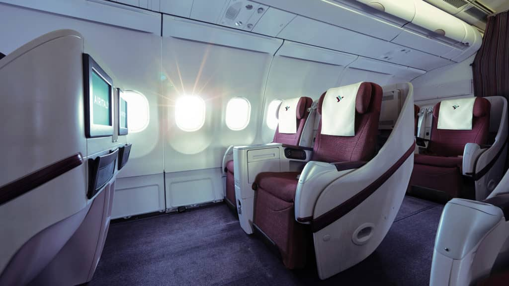 Air Italy Business Class im A330 &copy Air Italy