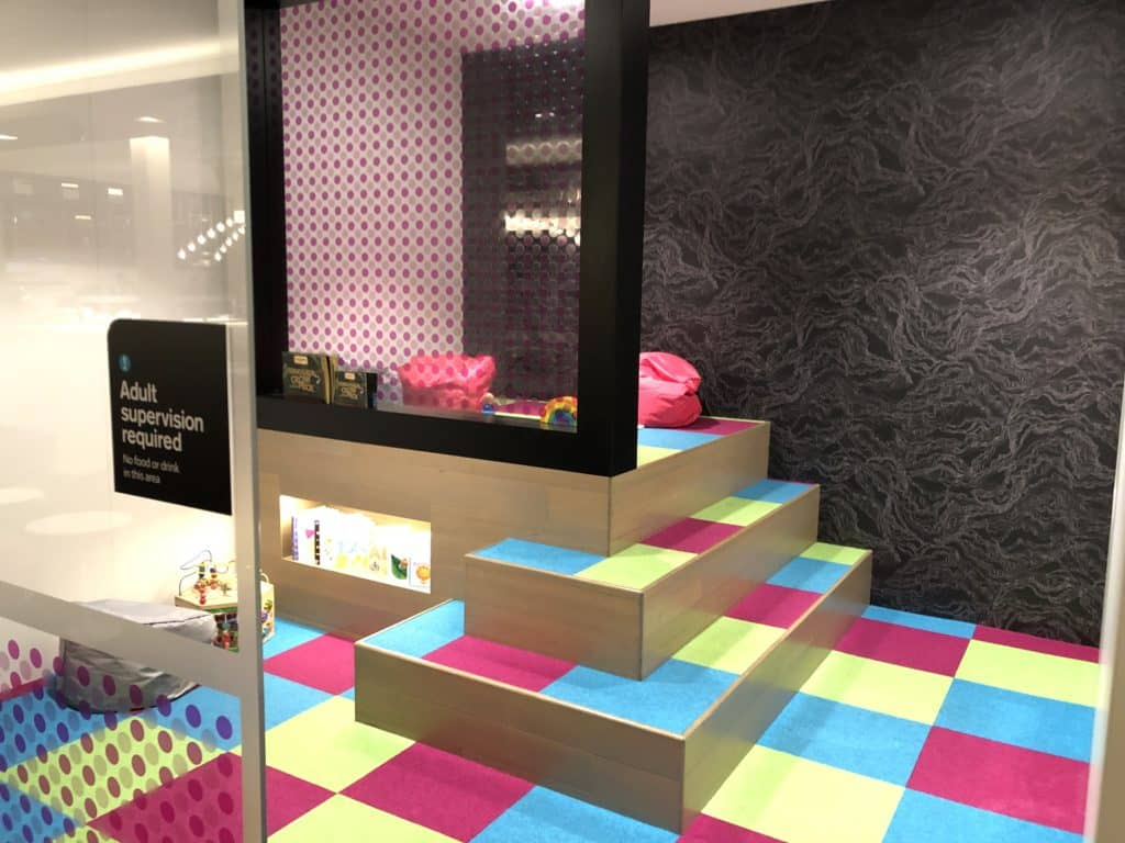 Air New Zealand Brisbane International Lounge Kinderecke