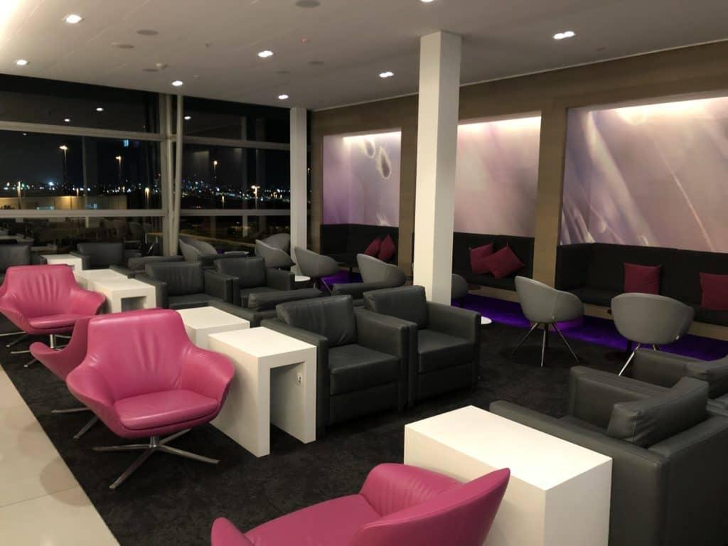 Air New Zealand Brisbane International Lounge Sitzbereich