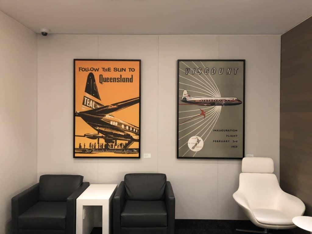 Air New Zealand Brisbane International Lounge Sitzbereich H