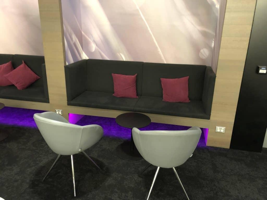 Air New Zealand Brisbane International Lounge Sofa