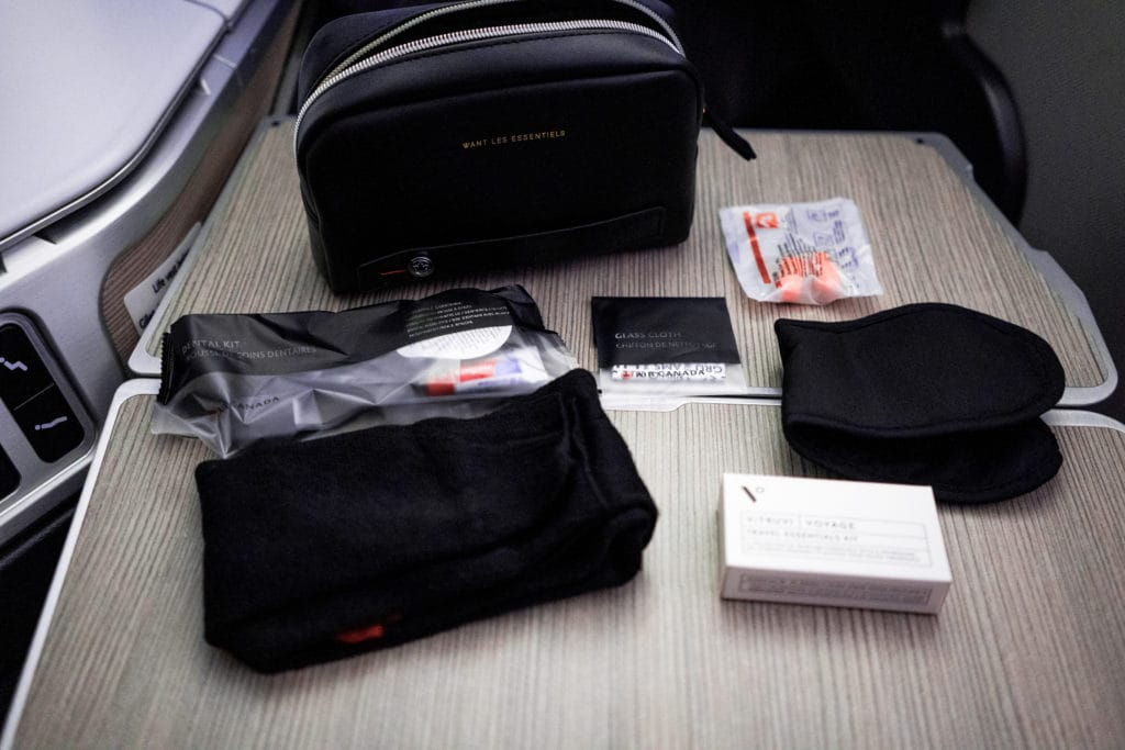 AirCanada Business Class Boeing 777 Amenity Kit