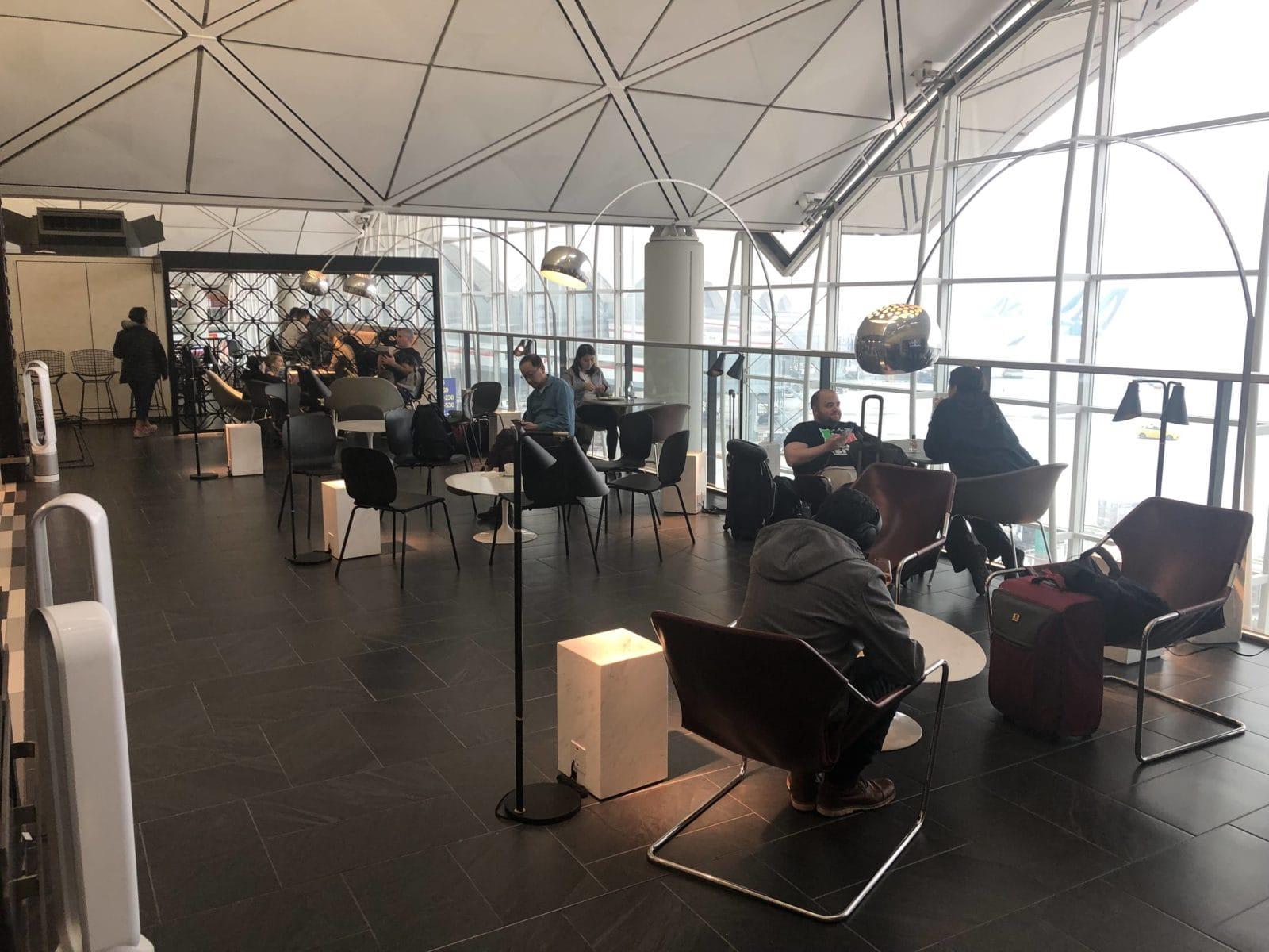 American Express Centurion Lounge Hong Kong Hauptteil