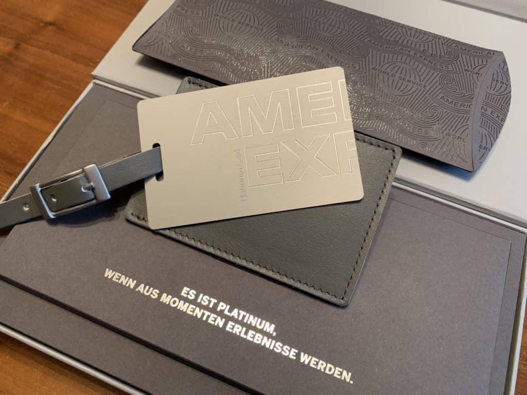 American Express Platinum Willkommenspaket