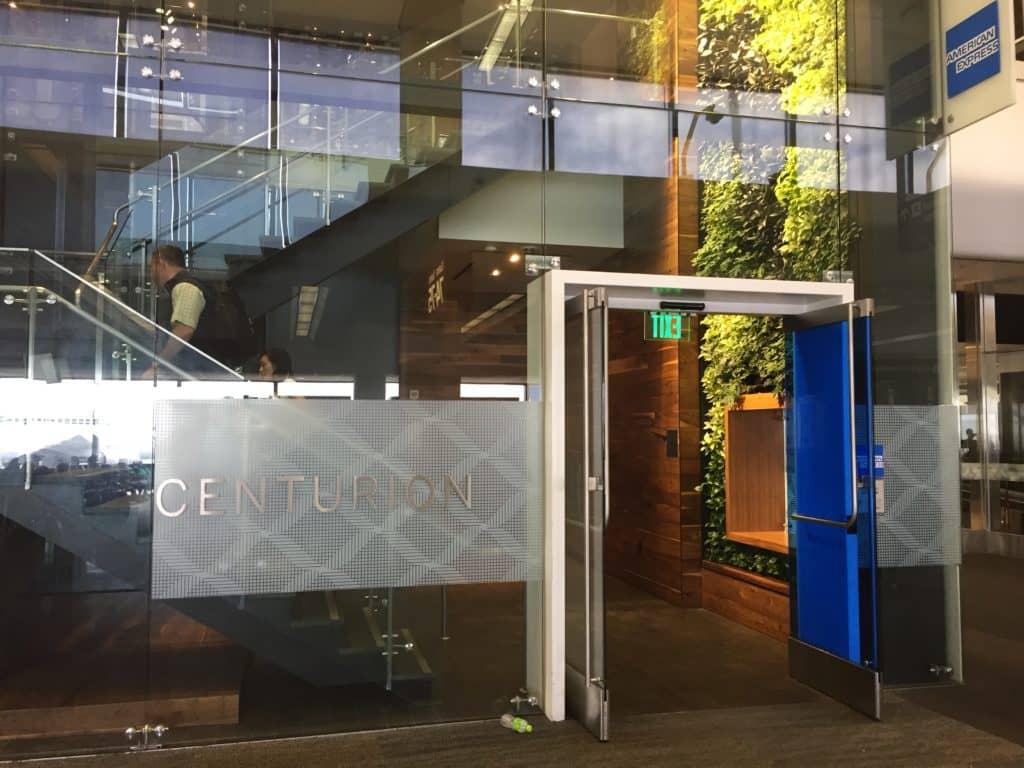 American Express Centurion Lounge San Francisco