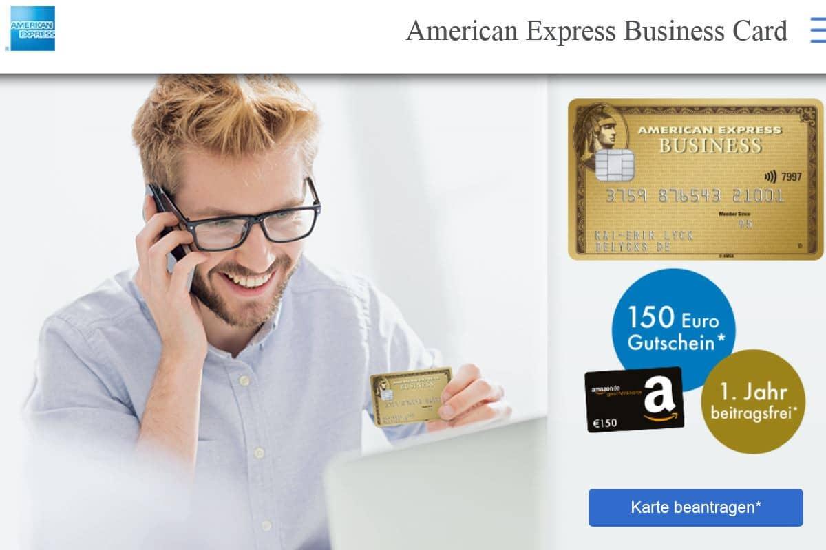 American Express Bonus für die Amex Gold Business: 30000 Punkte